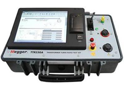 Three Phase Transformer Turns Ratio Test Set TTR310E & TTR330A